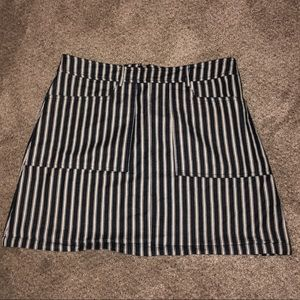 Lulus striped skirt